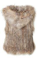 Zadig & Voltaire Raccoon Fur Vest - Lyst