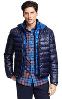 Tommy Hilfiger Convertible Puffer Jacket - Lyst
