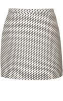 Topshop Zig Zag Weave Skirt By Boutique - Lyst