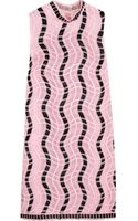 Christopher Kane Embroidered Silkorganza Mini Dress - Lyst