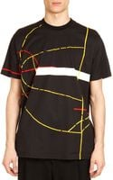 Givenchy Basketball Court-print Tee - Lyst