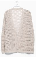 Violeta By Mango Sequin Alpaca-blend Cardigan - Lyst