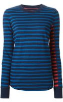 Marc By Marc Jacobs Striped T-shirt - Lyst