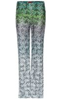 Missoni Crochetknit Trousers - Lyst