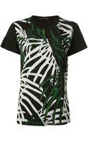 Proenza Schouler Palm Print T-shirt - Lyst