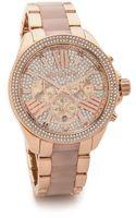 Michael Kors Wren Watch - Rose Gold - Lyst