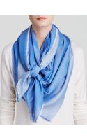 Tory Burch Mixed Woven Logo Scarf - Lyst
