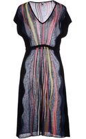 M Missoni Kneelength Dress - Lyst