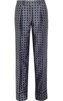 J.Crew Collection Silkfoulard Wideleg Pants - Lyst