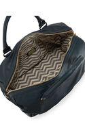 Deux Lux Celestial Fauxleather Snakeprint Weekender Bag - Lyst