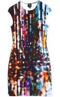 McQ by Alexander McQueen Tokyo Lights Dress - Lyst