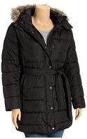 Old Navy Plus Long Hooded Quilted Coats - Lyst