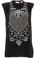 Sass & Bide Embellished Muscle Tank - Lyst