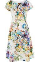 Cc Photographic Floral Print Dress - Lyst