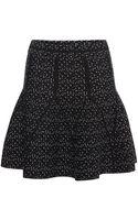 Antonio Berardi Speckled Knit Skirt - Lyst