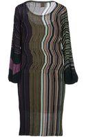 M Missoni Kneelength Dress - Lyst