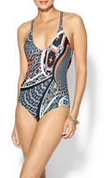 Clover Canyon Cuban Tile One Piece - Lyst