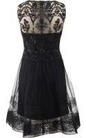 Notte By Marchesa Cocktail Dress with Full Skirt - Lyst