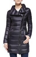 Mackage Yara Leather-trim Puffer Jacket - Lyst