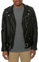 Schott Nyc The 26 Midweight Vintage Cowhide Fitted Motorcycle Jacket - Lyst