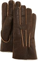 Ugg Gauge Point Shearling Gloves - Lyst