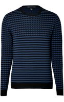Marc By Marc Jacobs Wool Patterned Knit Pullover - Lyst