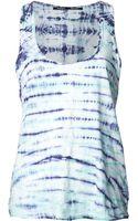 Proenza Schouler Jersey Tie Dye Tank - Lyst