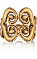 Oscar de la Renta Goldtone Bracelet - Lyst
