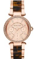 Michael Kors Parker Rose-gold Plated Watch - Lyst