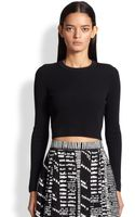 Proenza Schouler Compact Crewneck Sweater - Lyst