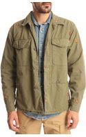 Denim & Supply Ralph Lauren Khaki Fly Hunting Jacket - Lyst