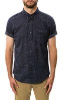 Volcom The Didot Ss Buttondown Shirt - Lyst