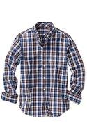 Gap Clean Worth Plaid Shirt - Lyst