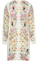 Matthew Williamson Silk Floral Print Dress - Lyst