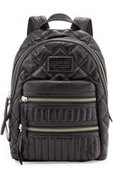 Marc By Marc Jacobs Domo Biker Leather Backpack - Lyst