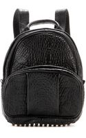Alexander Wang Dumbo Leather Backpack - Lyst
