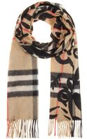 Burberry London Cashmere Scarf - Lyst