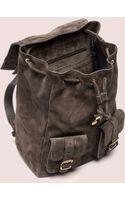 Proenza Schouler Ps1 Backpack Suede - Lyst