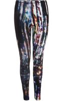 McQ by Alexander McQueen Blurry Lights Print Leggings - Lyst