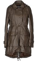 Gianfranco Ferré Leather Outerwear - Lyst