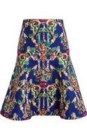 Mary Katrantzou Space Printed Skirt - Lyst