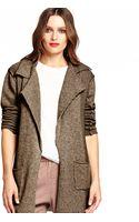 Michael Stars Sweater Coat - Lyst