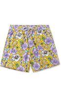 Vilebrequin Moorea Midlength Printed Swim Shorts - Lyst
