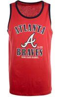47 Brand Mens Atlanta Braves Tilldawn Tank - Lyst
