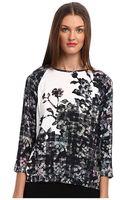 Tibi Floral Fields Easy Sweatshirt - Lyst
