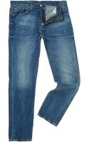 Levi's 508 Regular Taper Leg Daylight Wash Jean - Lyst