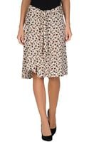 See By Chloé Knee Length Skirt - Lyst