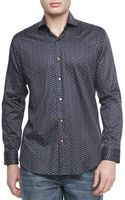 Bogosse Heidi Starprint Sport Shirt Black - Lyst
