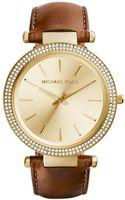 Michael Kors Ladies Darci Gold-tone Glitz Watch - Lyst