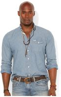 Polo Ralph Lauren Polo Big and Tall Chambray Shirt - Lyst